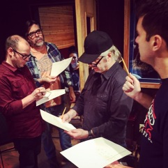 Musicians Discussing the Chart