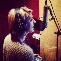 Megan Singing vocals