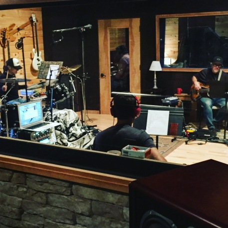 Guys in the Tracking Room