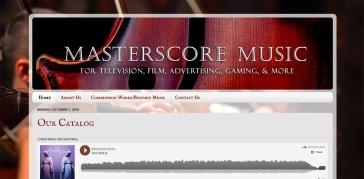 Masterscore Site
